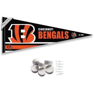 Cincinnati Bengals Wall Banner Pennant Flag