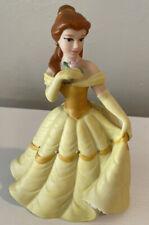 Disney Beauty & The Beast Belle Ceramic Porcelain Figurine Matte Finish