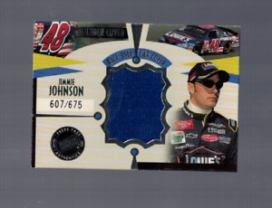 Jimmie Johnson NASCAR Racing 2002 Press Pass Eclipse Used Cover Card 607/675