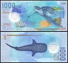 Maldives 1,000 (1000) Rufiyaa, 2015, P-NEW, UNC