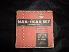 Vintage Dritz Nail Head Set 675, Use as Trimming Clothes, Purses... Original BX