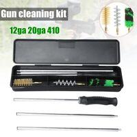 Gun Cleaning Kit 12ga 20ga 410 Air Rifle Airgun Pistol Bore Shotgun