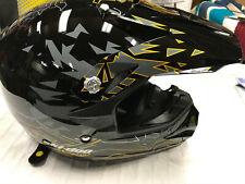 BRP SKI DOO SMALL XC-3 INTRUDER HELMET Black Yellow 4476660490 447666