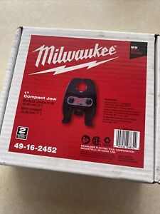 """Milwaukee New Copper Press 1"""" inch compact jaw for propress 49-16–2452"""