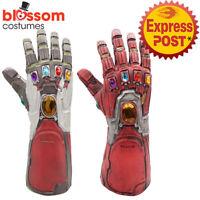 N98 Thanos Costume Glove Avengers Infinity War Endgame Gauntlet Cosplay Prop