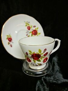 DUCHESS BONE CHINA CUP AND SAUCER, EXCELLENT CONDITION