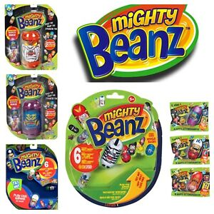 MIGHTY BEANZ SERIES 4 100+ TO COLLECT PACK OF 3 / 6 / 10 BLIND BAGS MOOSE BEANS