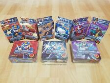 Decipher Megaman NT CCG/TCG Sealed 6x Starter Deck 3x Booster Box Lot/Collection