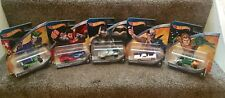 Hot Wheels DC Comics X5 Two-Face ,Joker Man Of Steel, Armoured Batman , Aquaman