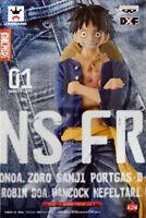 Figurine One Piece - Luffy (Special Color) Jeans Freak Version 17cm