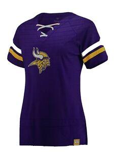Minnesota Vikings NFL Women's Purple Draft Me Shirt ~ NWT