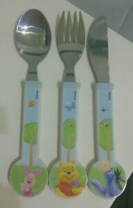 DISNEY WINNIE THE POOH CHILDS STAINLESS STEEL CUTLERY