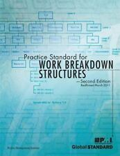 Practice Standard for Work Breakdown Structures (2006, Paperback)