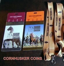 2018 & 2019 BREEDERS CUP CLUBHOUSE & GRANDSTAND ADMISSION TICKETS & LANYARDS