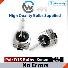 2x D1S HID Xenon White 5000K 35W Bulbs Replacement Headlights Low Beam For VW