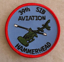2000'S 396TH SEPARATE INFANTRY BATTALION AVIATION CO. HAMMERHEAD EMBROIDERED CE