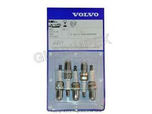 VOLVO 850 S60 S70 V70 (1993-2007) Spark Plug (Set of 5) GENUINE + WARRANTY