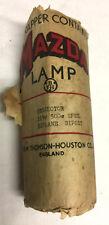 B.t.h. Mazda Proyector Lámpara 115 V 500 W biplano bipost nuevo 1941 Vintage Raro
