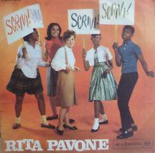 """7"""" 1964 Italy press RARE IN MINT -! Rita Pavone: scrivi"""