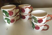Franciscan Apple Lot of 6 Cups Excellent Condition