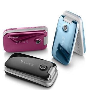 Original Z610 3G Sony Ericsson Z610i Bluetooth Jave Mp3 Player Color Flip Phone