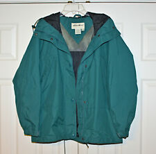 Eddie Bauer Outfitters Coat Women's M Full Zip Snap Hood Insulated Jacket