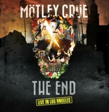 Motley Crue The End Live In Los Angeles Region 4 DVD + CD New