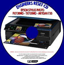 EPSON PX730WD TX730WD ART 730 rifiuti della Stampante Inchiostro Pad saturi reset riparazione PCCD