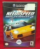 Need for Speed: Hot Pursuit 2 Nintendo GameCube Game NGC Tested Working Complete