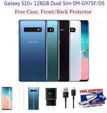 Samsung Galaxy S10+ 128GB (Unlocked) (Dual SIM) GSM, SM-G975F/DS, White, Black
