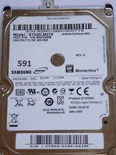 Samsung st500lm016 hn-m500xbb | p/n: c7943-g12a-a4iqf | 03.2012 | 500gb #591