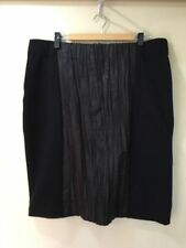 Straight, Pencil Hand-wash Only Knee-Length Plus Size Skirts for Women