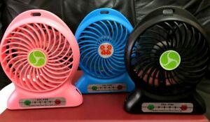 Portable Desk Fan USB Rechargeable Air Cooler Mini Desk,hand Fan Fast delivery.