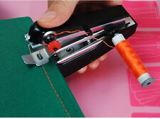 Portable Needlework Cordless Mini Hand-Held Clothes Fabrics Sewing Machine Xmas