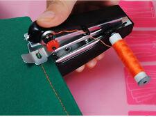 Portable Needlework Cordless Mini Hand-Held Clothes Fabrics Sewing Machine Xmas