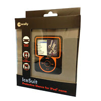 iPod nano 3G Sleeve-Case with cable Menagement , Macally-IceSuit
