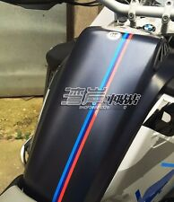 R1200GS F800GS F700 Fuel Tank Stripe Sticker Decal 40 x 1.5cm M color For BMW