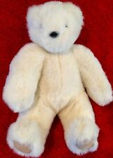 Teddy Bear White Plush Toy Stuffed Animal (Make a Friend for Life Brand ) NEW