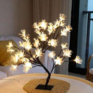 Fait main décoré decoupaged vache bouteille vin Lampe Light Up Cadeau D/'anniversaire Ferme