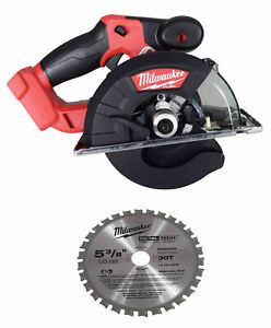 "Milwaukee 2782-20 M18 Fuel 18v Brushless Lithium-ion 5-3/8""cordless Metal Saw"
