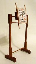 Vintage Doll House or Doll Detailed Wood Artist Display Stand or Rack