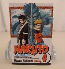 Naruto Volume 4 Shonen Jump Kishimoto Masashi