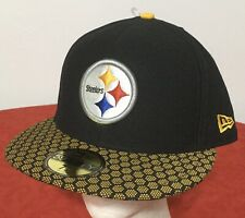 New Era Pittsburgh Steelers NFL OnField 59FIFTY 5950 Fitted Sz 7 3/8 CAP HAT NWT
