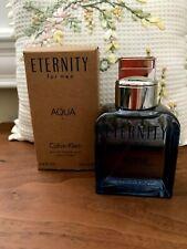 Calvin Klein Eternity Aqua for Men 3.4oz Men's Eau de Toilette New In Box!!