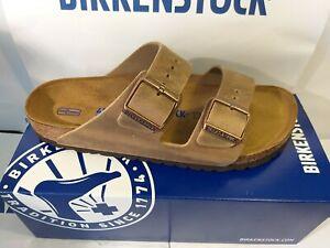 Birkenstock 40 arizona Tabacco Brown Leder Weichbettung
