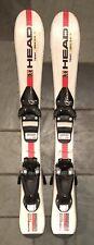 87 cm Head Team Super Shape junior skis bindings + kid's size 11.5 boots