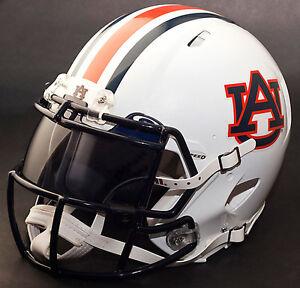 *CUSTOM* AUBURN TIGERS NCAA Riddell SPEED Full Size Replica Football Helmet