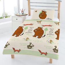 Le Gruffalo forêt bébé enfant junior jeu de Housse et taie d'oreiller COUETTE