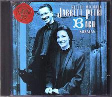 Michala PETRI & Keith JARRETT: BACH 6 Recorder Sonata CD Blockflöte Harpsichord