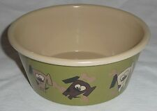 Dogs and Bones Design MELAMINE DOG Cat BOWL food/water Pet Animal NEW 15cmx6.5cm